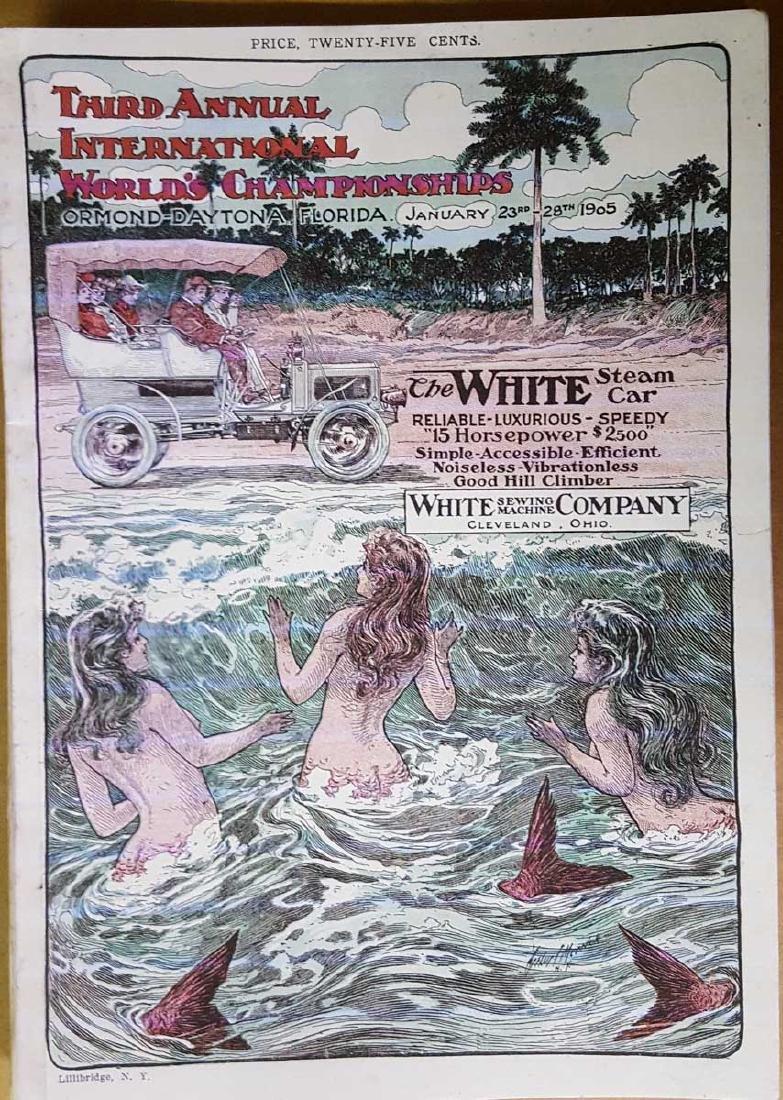 1905 Ormond Beach race and trial program