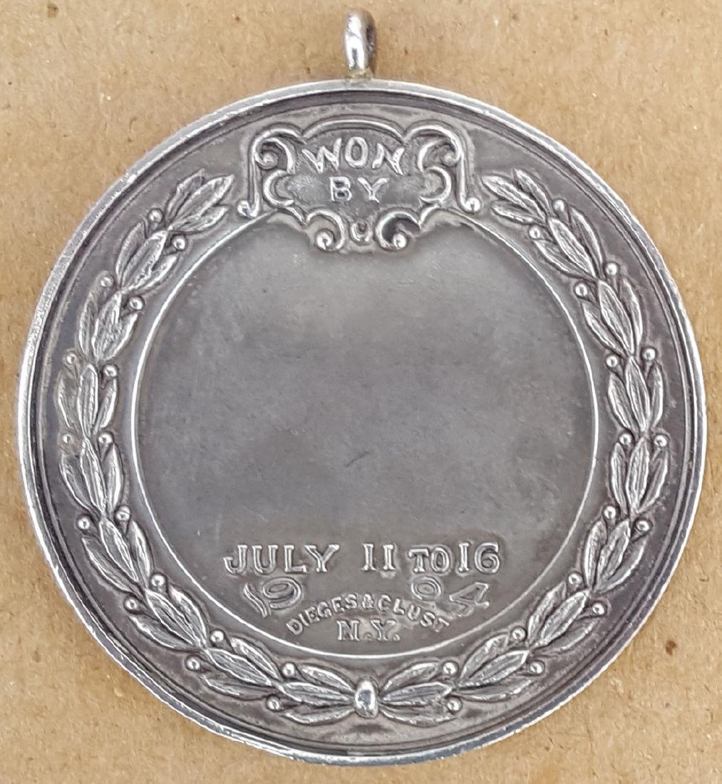 1904 Mt Washington presentation medal - 2