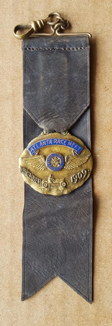 Early race fob ribbon and ticket - 2