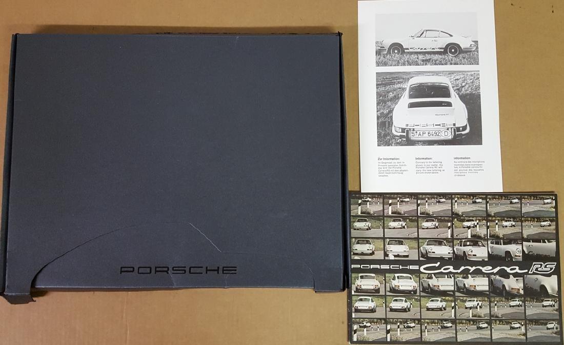 Desirable  and rare Porsche items