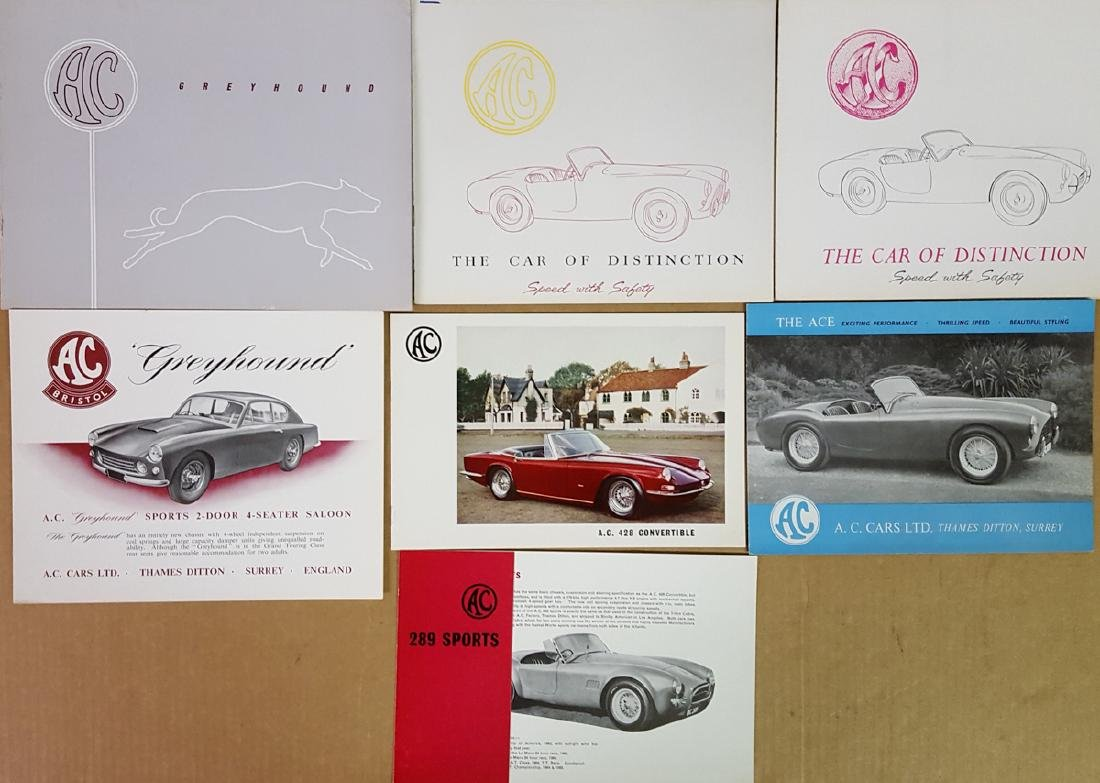 AC car brochures