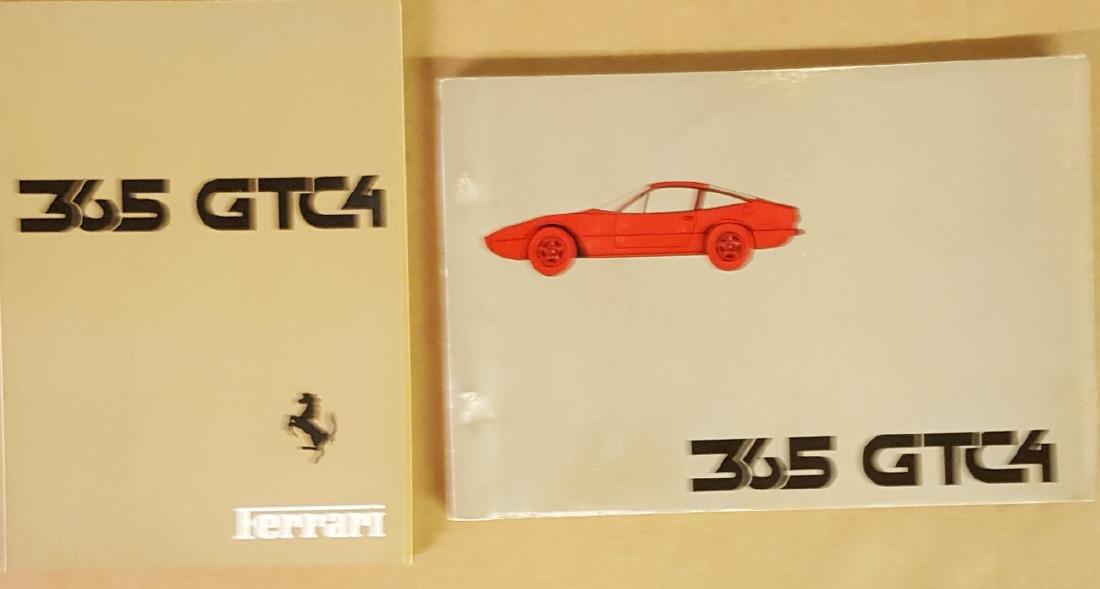 Ferrari 365 GTC 4 owners & parts manuals