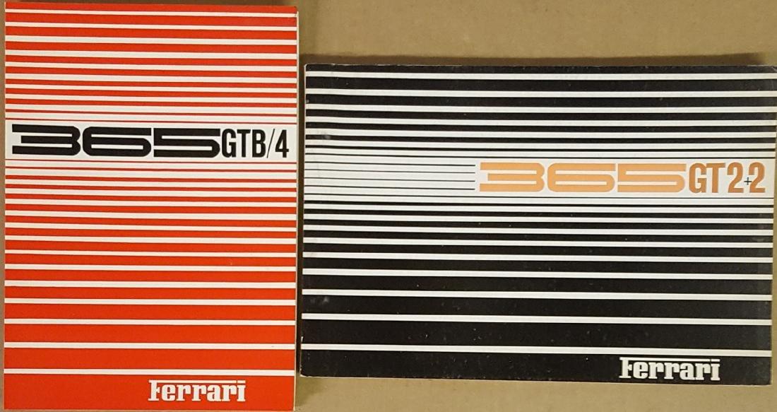 Ferrari 365GTB/4 manual, 365GT2+2 parts