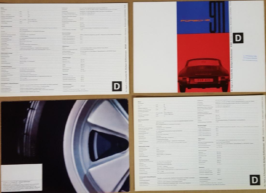 Four Porsche 911 brochures - 3