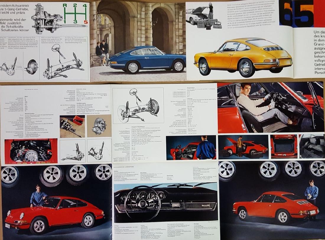 Four Porsche 911 brochures - 4