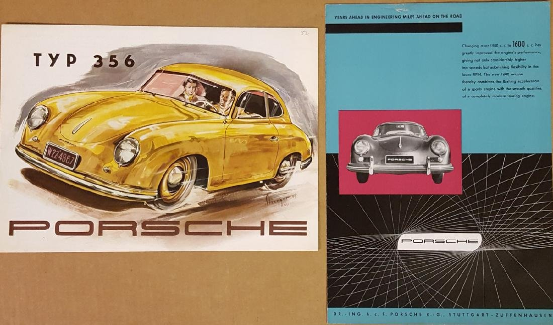 Two early Porsche 356 items