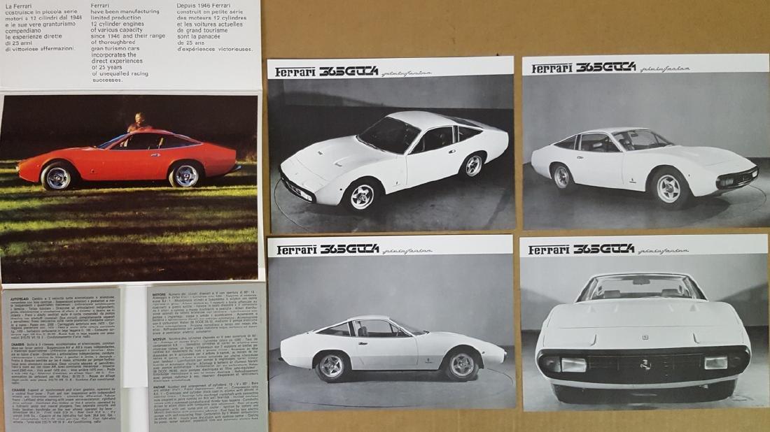 Ferrari 365 GTC/4 1971 portfolio, 10 plates - 2