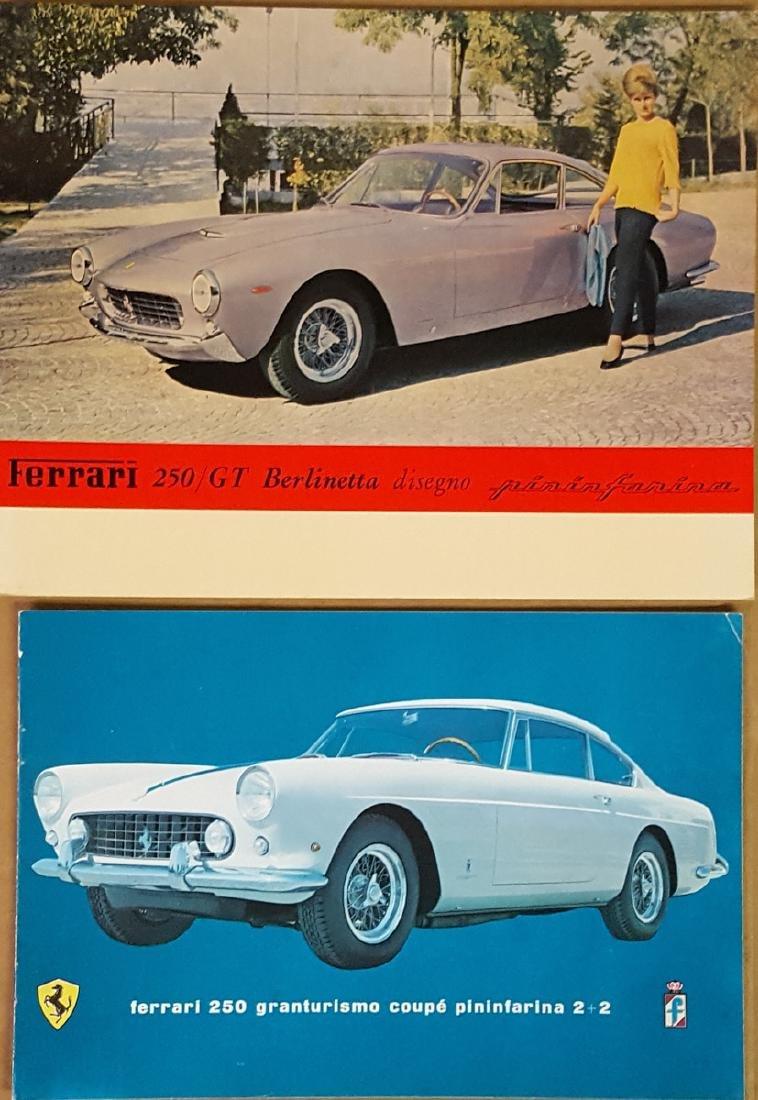 Ferrari 250 Lusso and GTE brochures