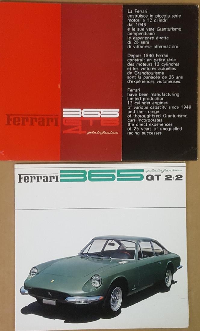 Ferrari 365 GTB/4 Daytona & 365 GT 2+2