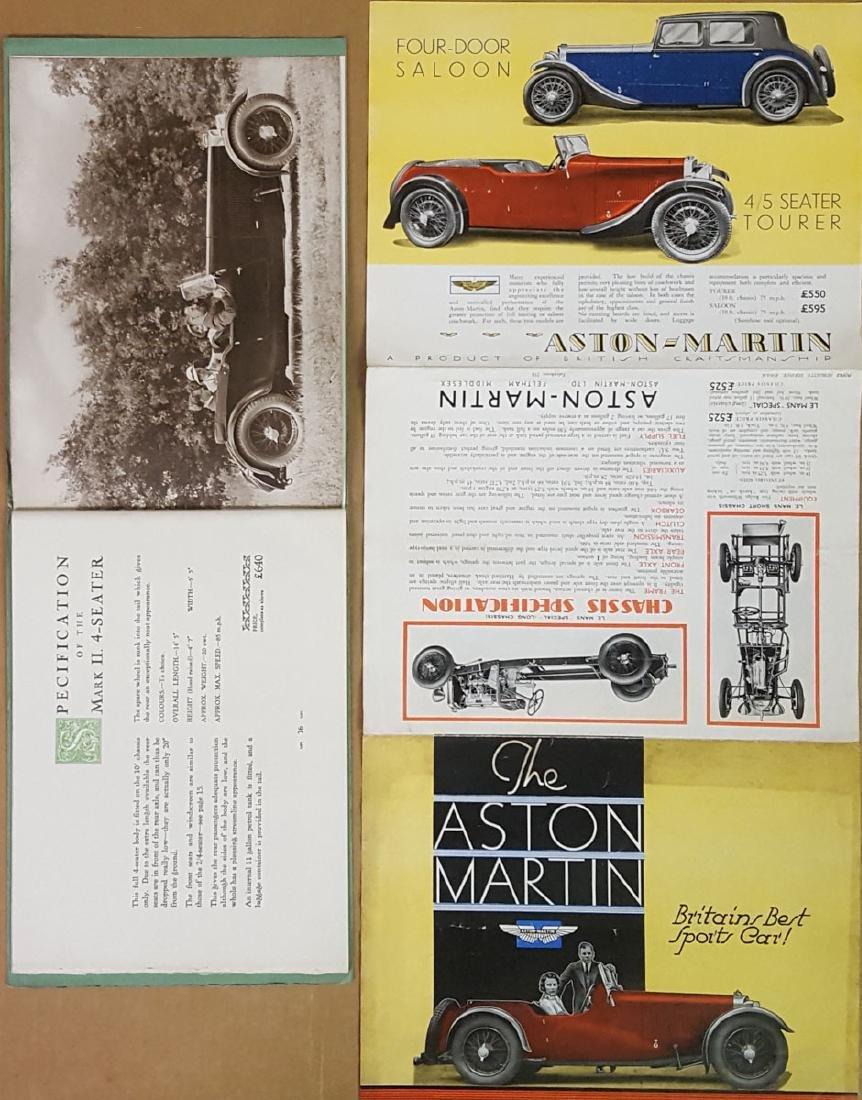 1934 - 1935 Aston Martin brochures - 3