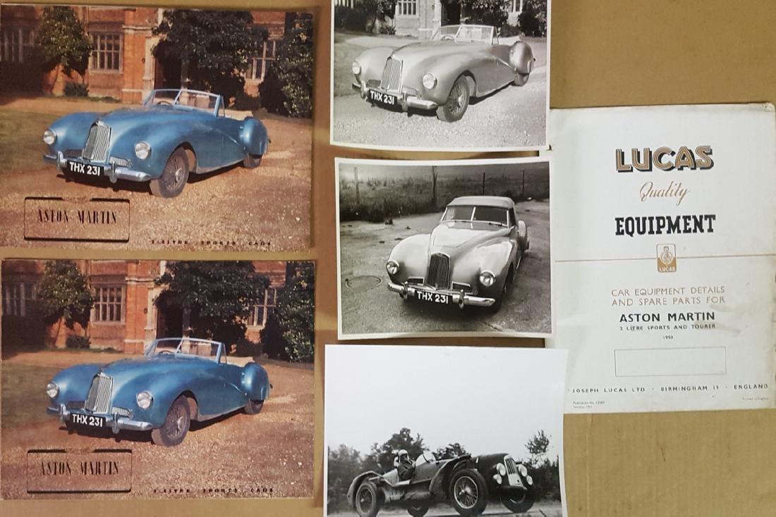1949 - 1950 Aston Martin items