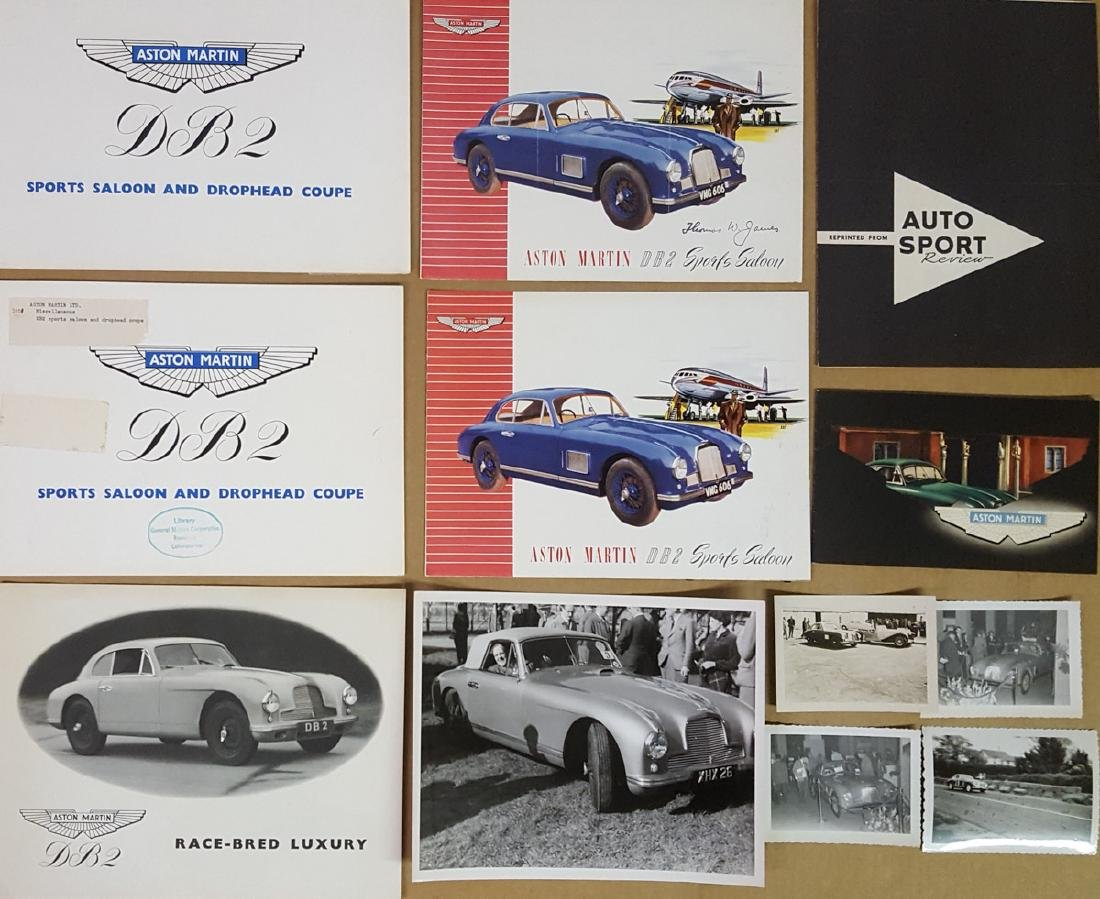 1950 - 1951 Aston Martin items