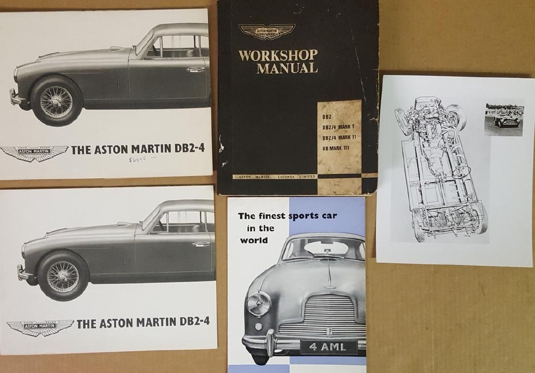 1953 - 1956 Aston Martin items