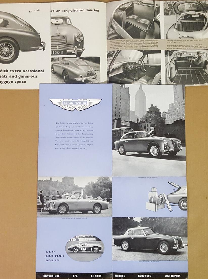 1953 - 1956 Aston Martin items - 3