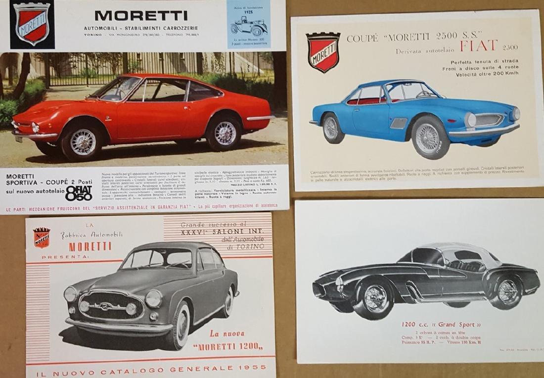 1950's - 60's Moretti brochures
