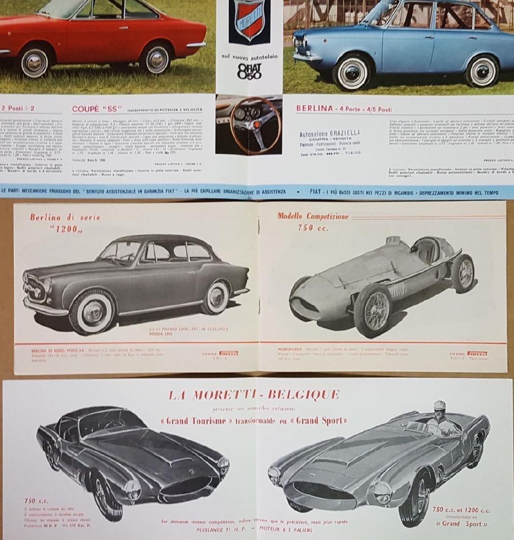 1950's - 60's Moretti brochures - 3