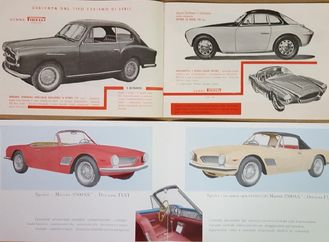 1950's - 60's Moretti brochures - 4