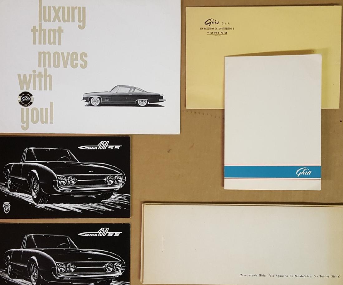 Ghia brochures and photos