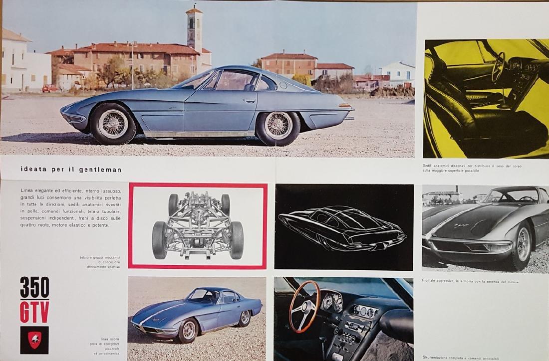 Two different Lamborghini 350 brochures - 4