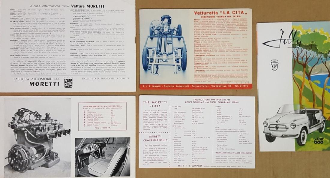 Five 1940's - 60's Italian brochures - 2