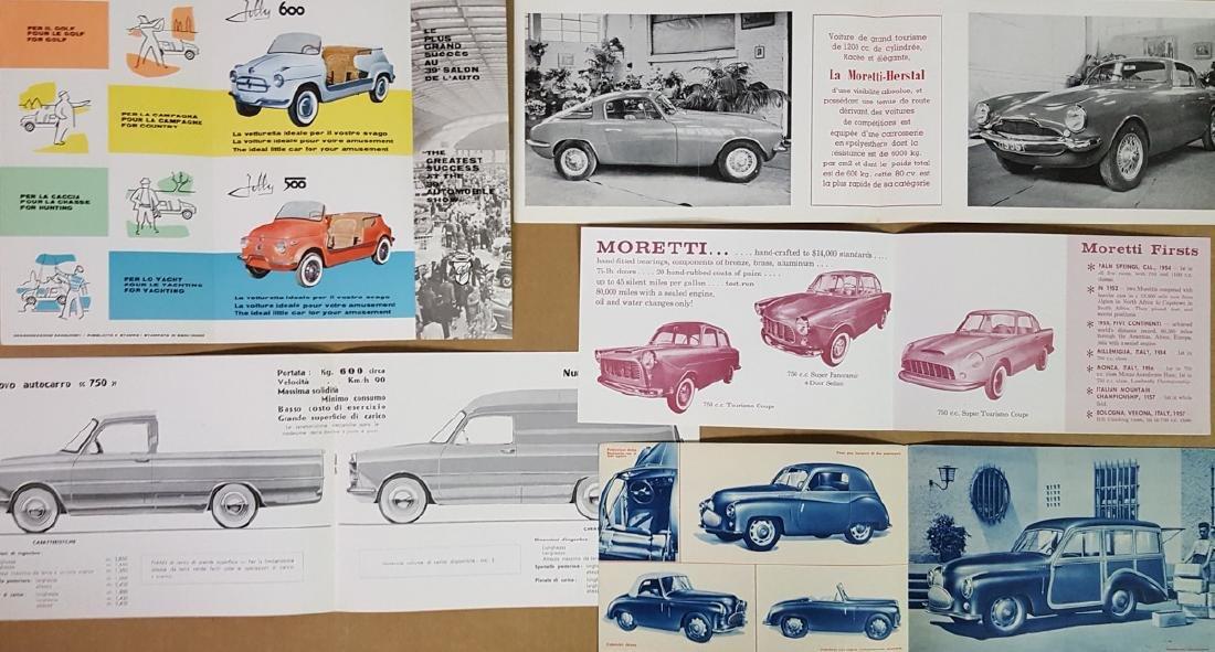 Five 1940's - 60's Italian brochures - 3