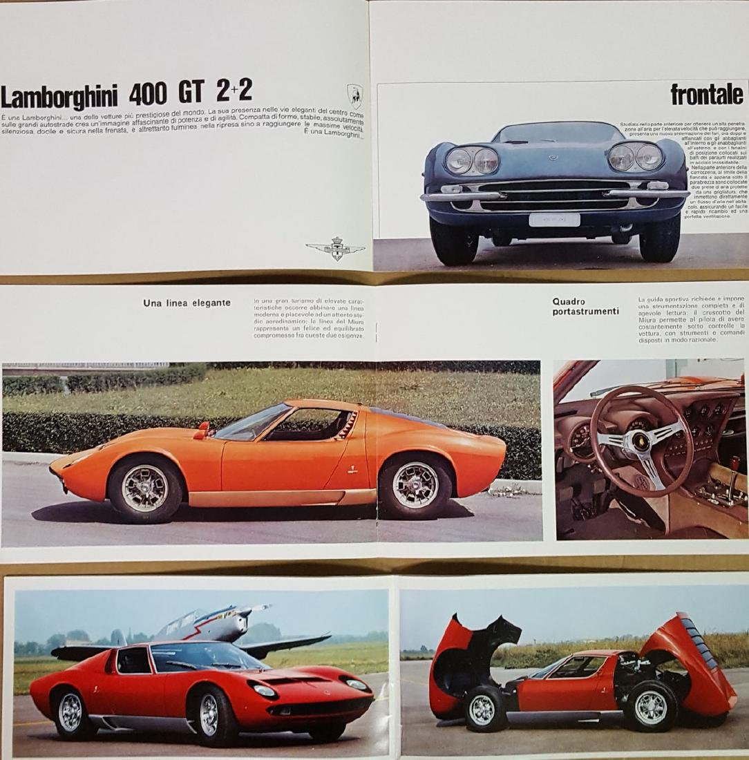 Three Lamborghini brochures - 3