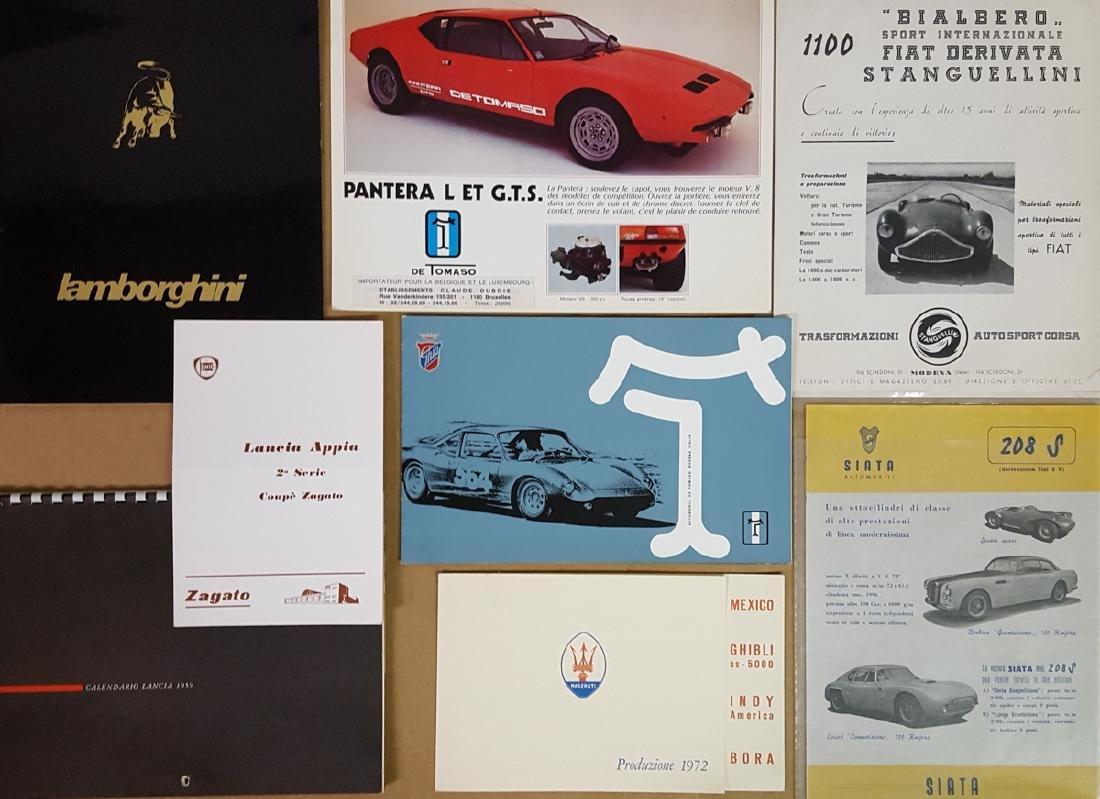 Misc Italian brochures