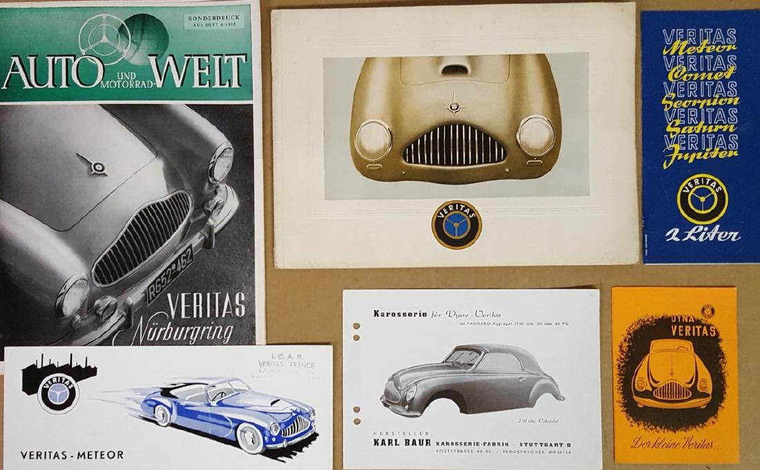 Six Veritas (German) brochures
