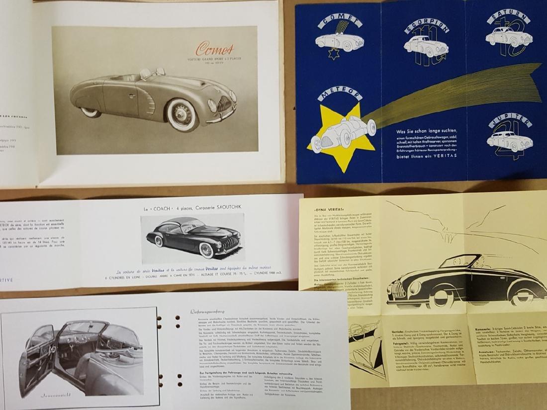 Six Veritas (German) brochures - 2