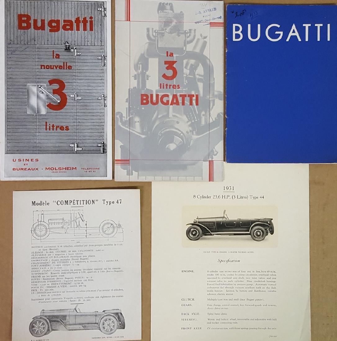 Bugatti - late 1920's-early 1930's