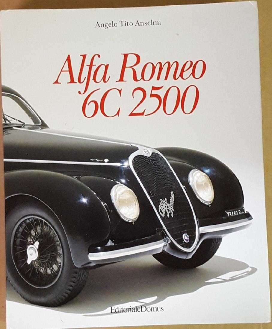 Alfa Romeo 6 C 2500 model book