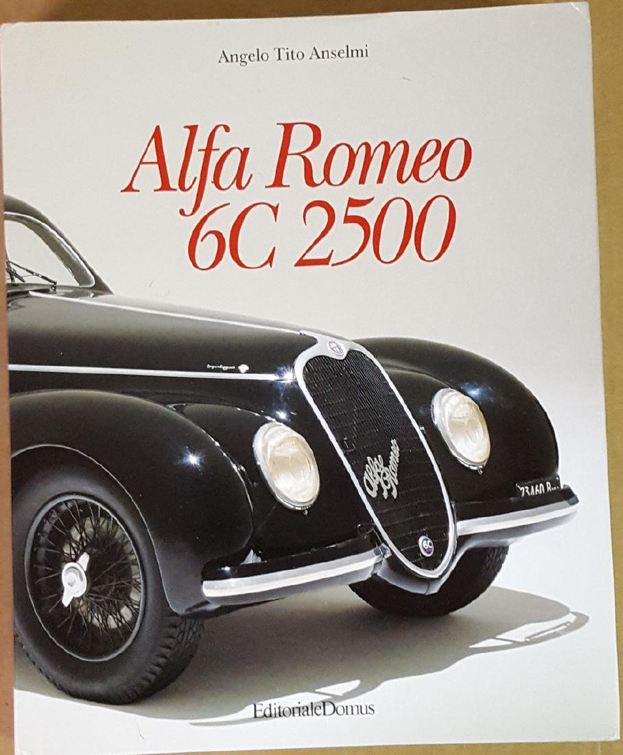 Alfa Romeo 6 C 2500 model book