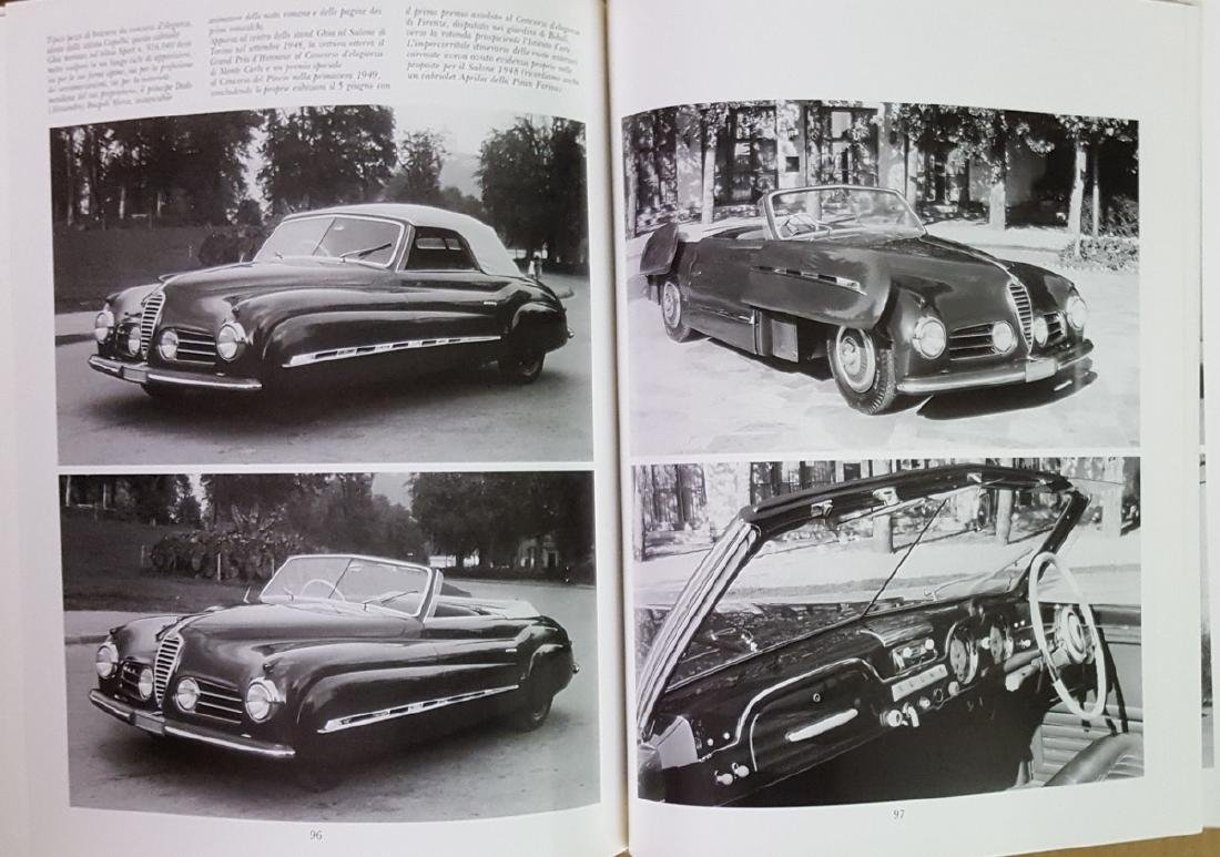 Alfa Romeo 6 C 2500 model book - 2