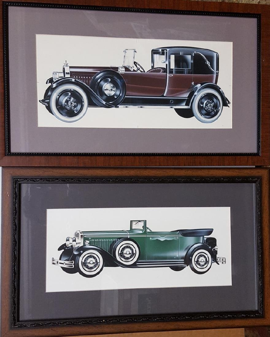 Packard and Studebaker stylist drawings
