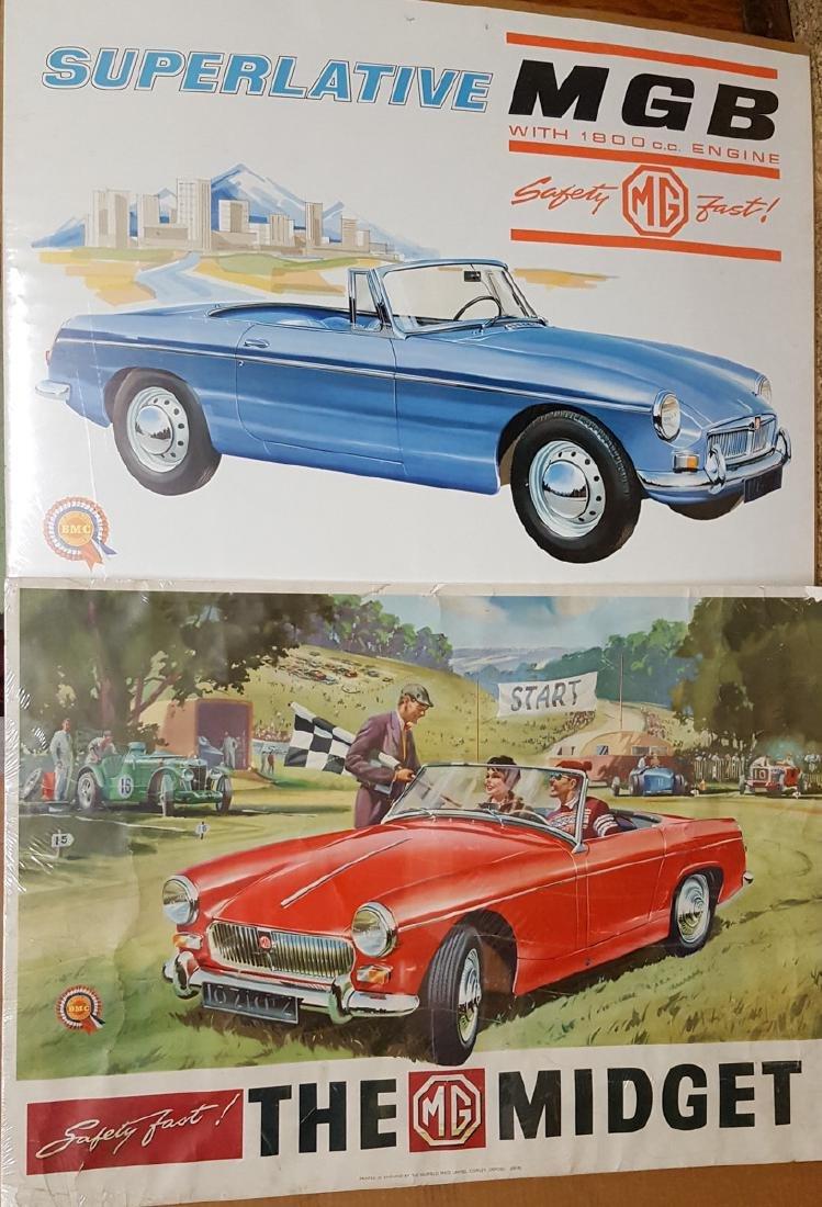 Three large British posters