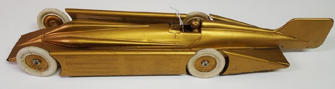 Original Kingsbury Golden Arrow toy