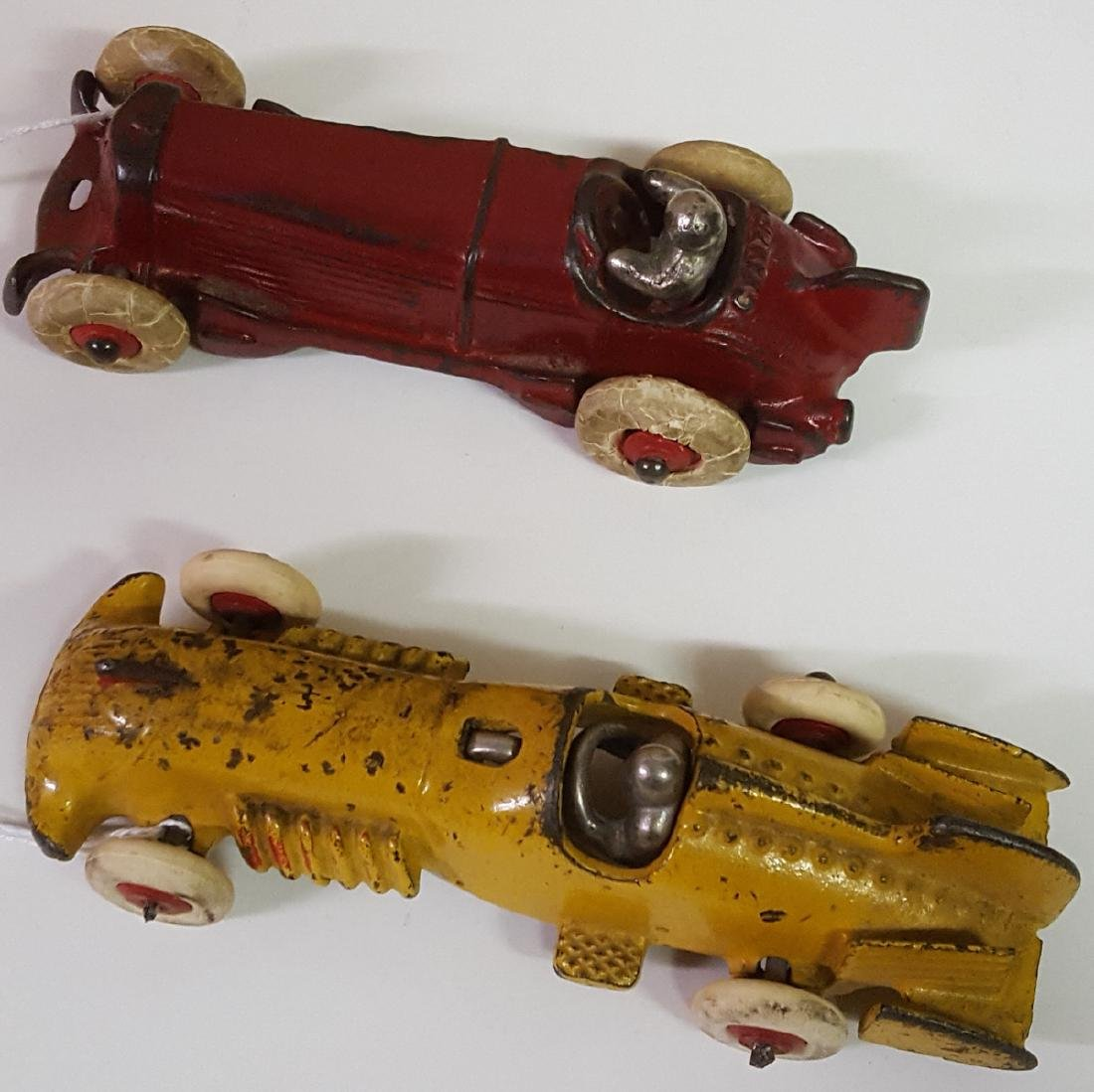 Two toy cast iron original racers - 2