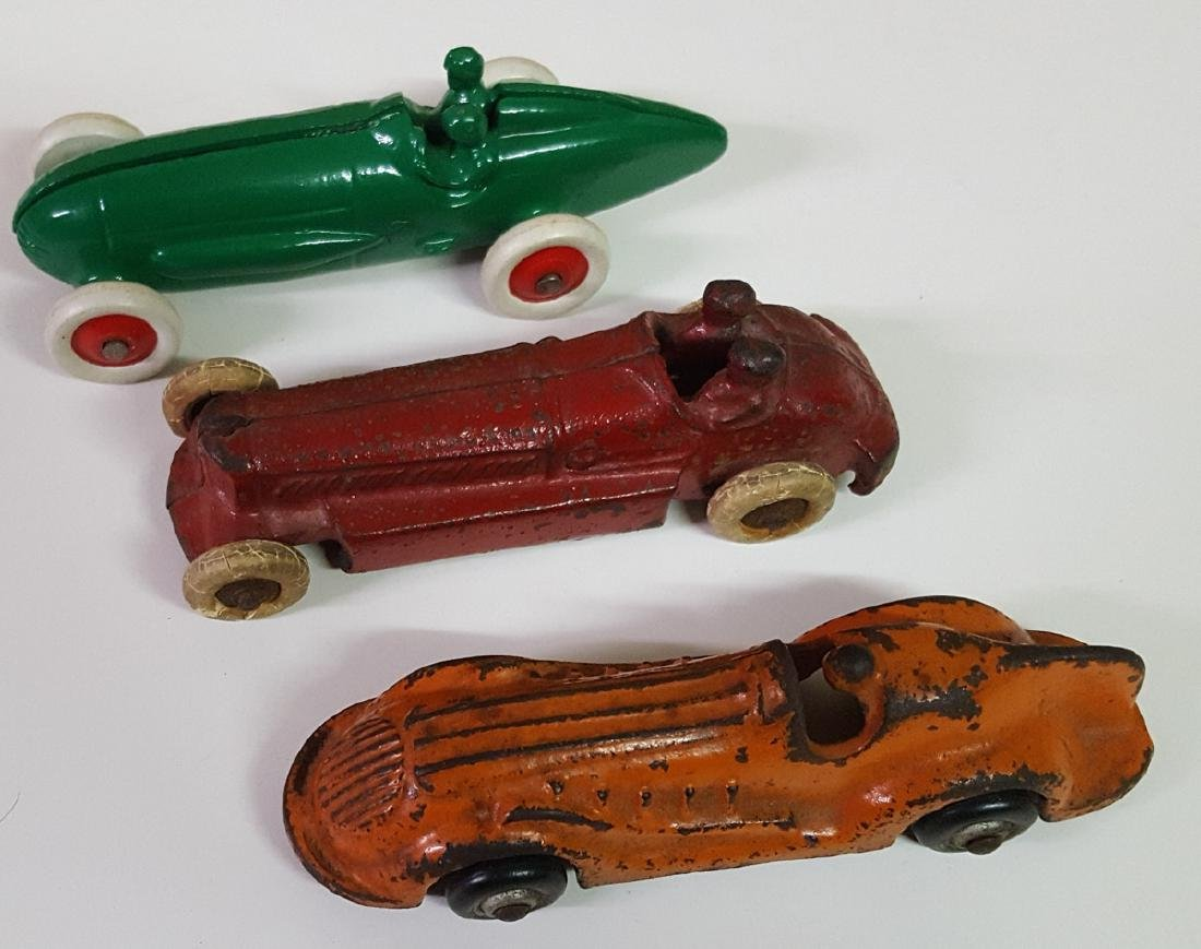 Three toy racers
