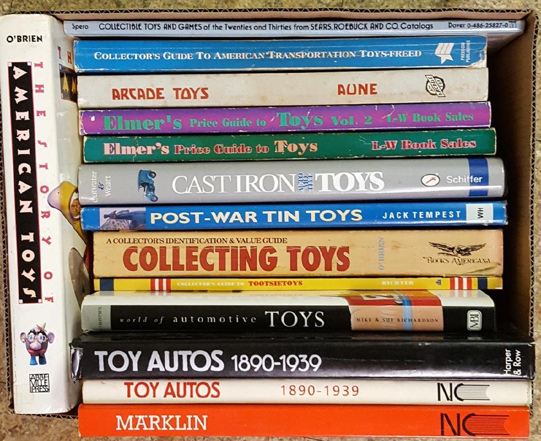 Collection of toy related books