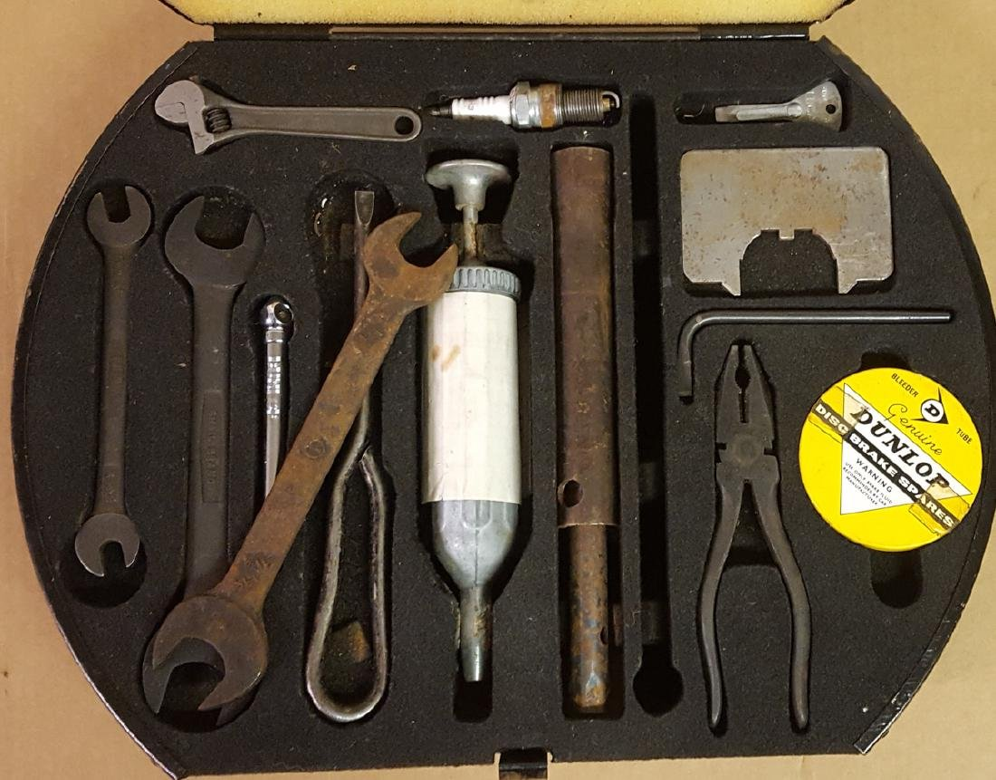 Jaguar tool kit - 1950's - 60's era