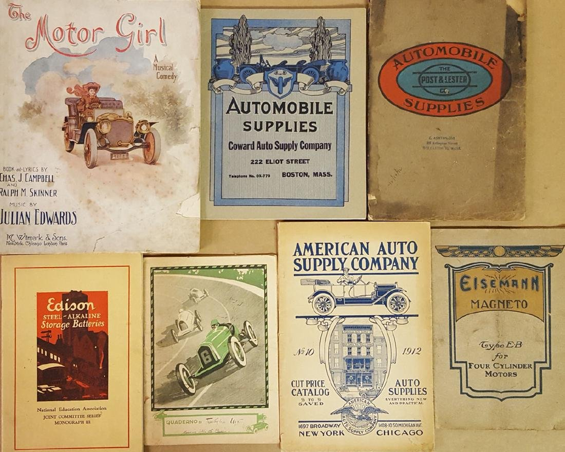 Early auto related paper