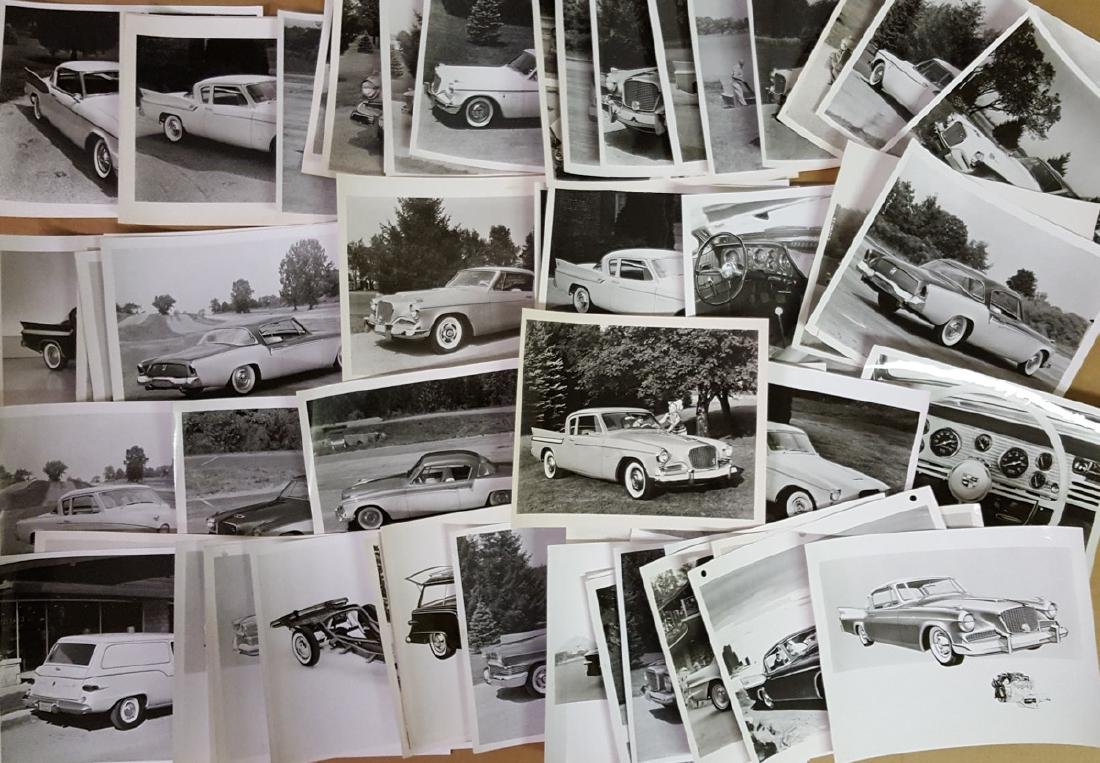 Studebaker press photos, 1950's-60's