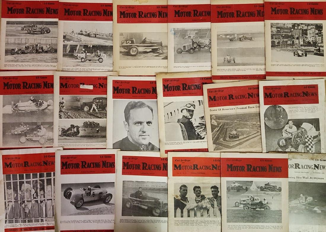 1930's Coast Auto Racing News