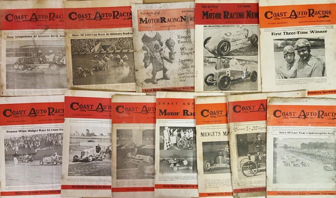 1930's Coast Auto Racing News - 3