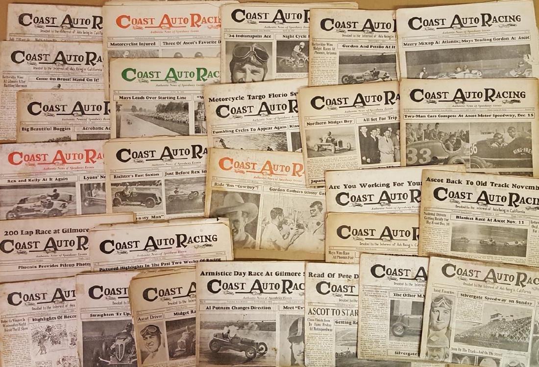 1930's Coast Auto Racing News - 4