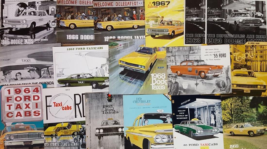 Taxi broc - 1950's-70's