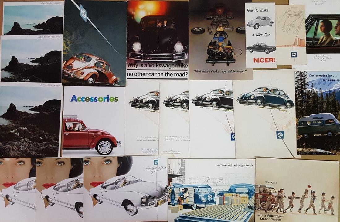 1950's-60's VW brochures