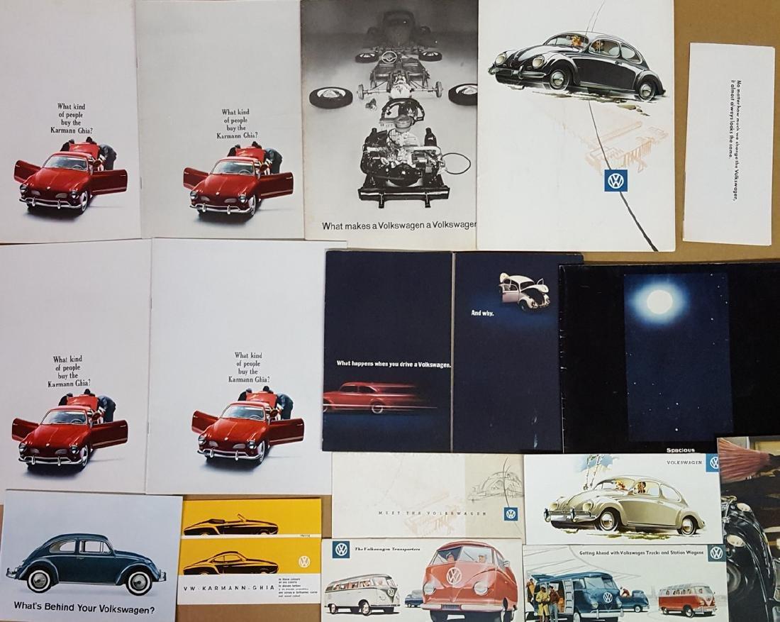 1950's-60's VW brochures - 2