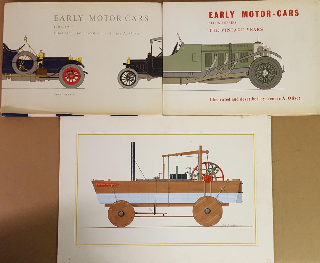 John Peckham orig art and two lg books