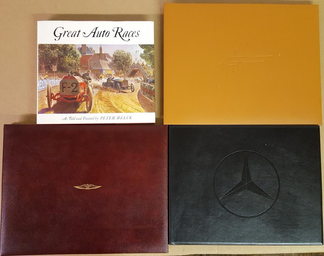 Four large books incl three Ken Dallison
